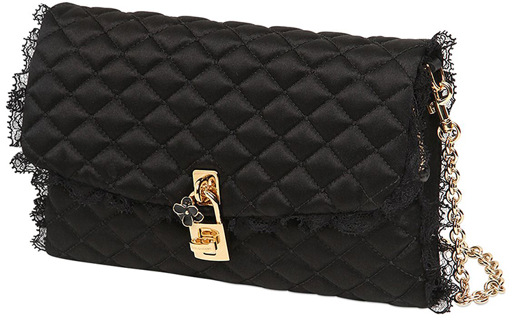 c8bc0ba7a235 Dolce   Gabbana Dolce Quilted Lace Bag - FunnyZas