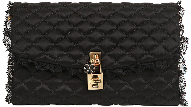2b4bcda905c3 Dolce   Gabbana Dolce Quilted Lace Bag - FunnyZas
