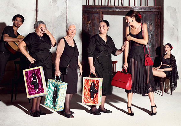 8eed8bc3752f Dolce And Gabbana Spring Summer 2015 Ad Campaign - FunnyZas