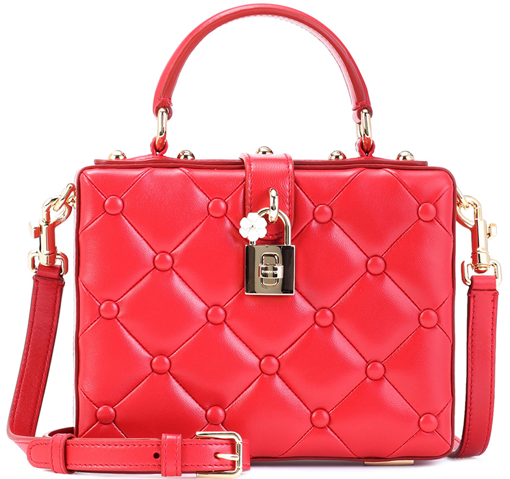 000bfb97a0cc Dolce   Gabbana Quilted Dolce Box Bag - FunnyZas