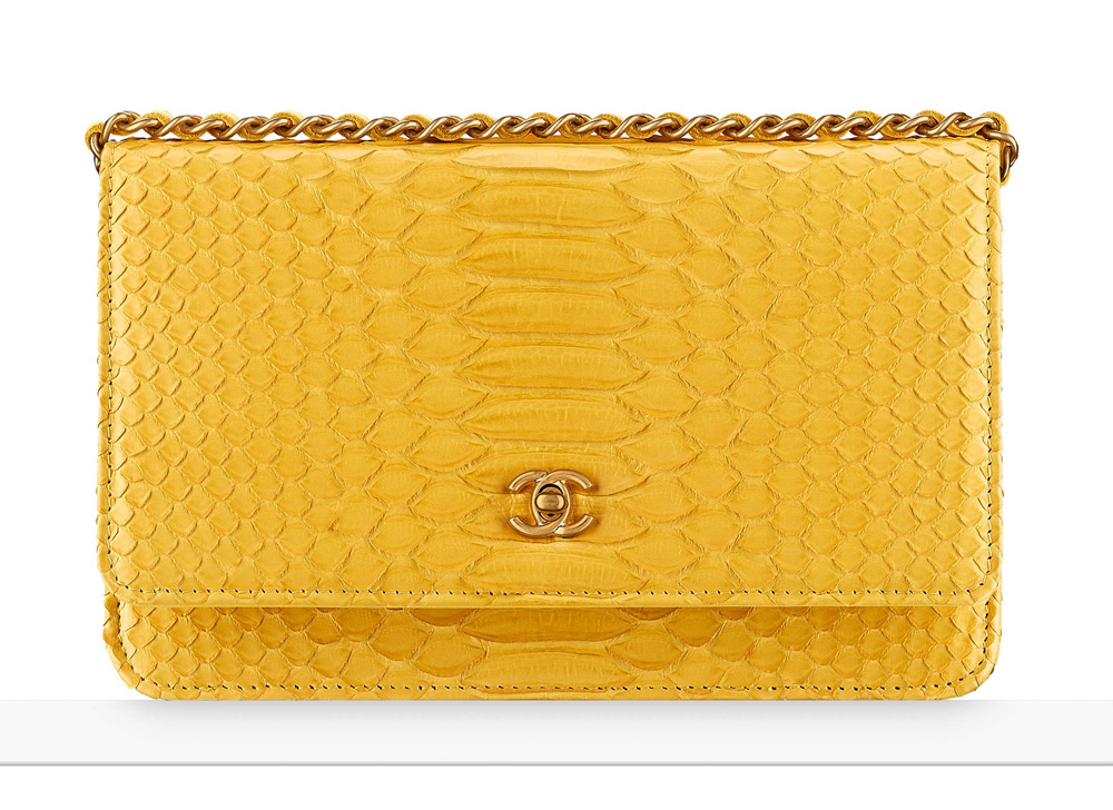 a03bfda500c7 Chanel-Python-Wallet-With-Chain-Yellow-4900 - FunnyZas