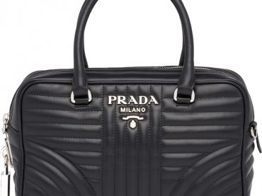 Prada Diagramme Tote Bag