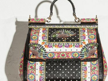 Dolce And Gabbana Fan Foulard Bag Collection