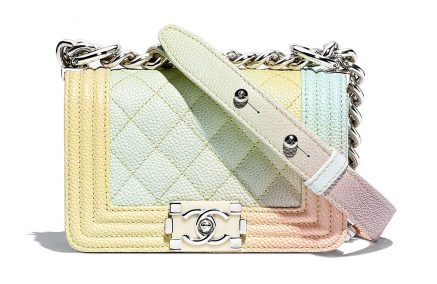 Rainbow Chanel Boy Bags Are Back for Pre-Collection Spring 2018, Together with a New Mini Size