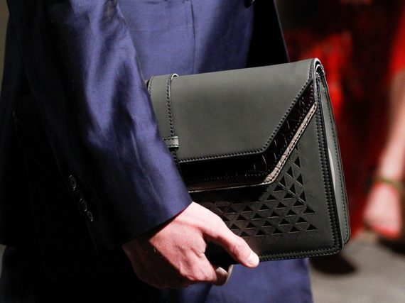 Bottega Veneta Spring 2017 Celebrated the 50th Anniversary with Men's and Both Women's of the Brand Bags